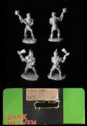 Reaper Miniatures Fantasy 25mm/28mm 06028 Plague Zombies (x 4 figs)